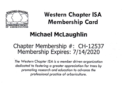 Western Chapter International Society of Arborculture